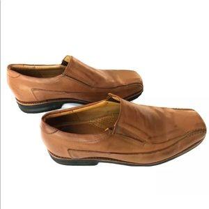 Sandro Moscoloni Leather Slip-on Dress Mens Shoe